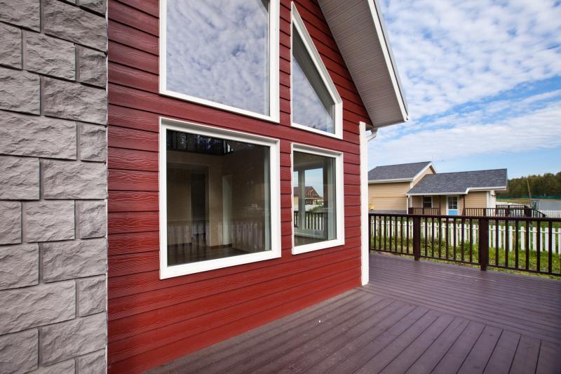 Фасадные панели из ДПК наружная отделка фасада дома плюсы и минусы продукции компании Holzhof